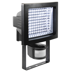 Elektra & verlichting: LED buitenlamp 117 led`s met bewegingssensor